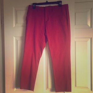 Volcom red trousers in size 9💕 super comfy!